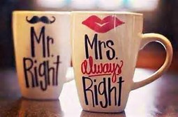 Mr right and mrs always right (pd)