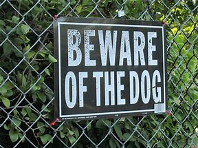 Beware of the dog (pd)